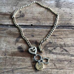 Vintage juicy gold necklace